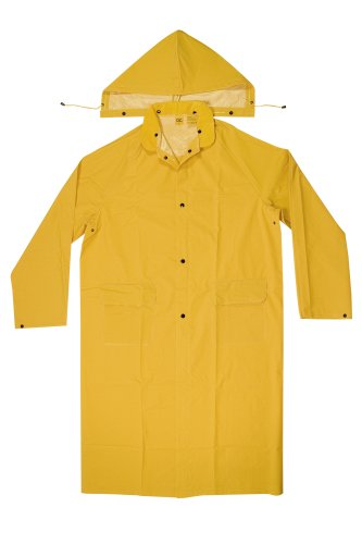 CLC Custom Leathercraft Rain Wear R105M .35 MM PVC Trench Coat, Medium