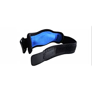 Tendonitis Golf & Tennis Elbow Brace: Adjustable Forearm Compression Support Pad & Sweatband - Relieves Ulnar Nerve Pain, Carpal Tunnel Syndrome, Bursitis, Arthritis & Muscle Aches for Men & Women