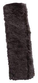SOJOY Luxurious Australian Merino Sheepskin Seat Shoulder Belt Strap Pad -Onyx/Black -SoJoy