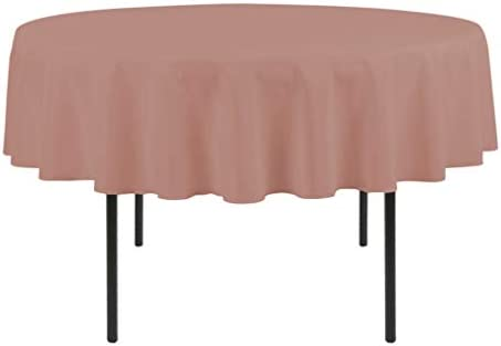 Amazon.com: Comfy Sleep Linens Classic Plum Round Tablecloth ...