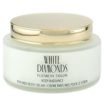 Elizabeth Taylor White Diamonds Perfumed Body Cream - 250ml/8.4oz - Elizabeth Taylor White Diamonds Perfumed Body Cream