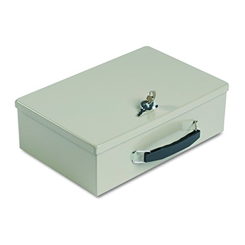 (MMF  Industries Fire-Retardant Cash Box with Lock, 1 Each (221614003))