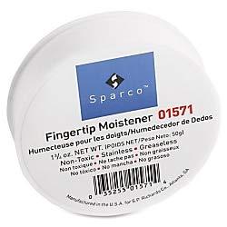Sparco Fingertip Moistener - Pink - Odorless, Greaseless, Stainingless ()