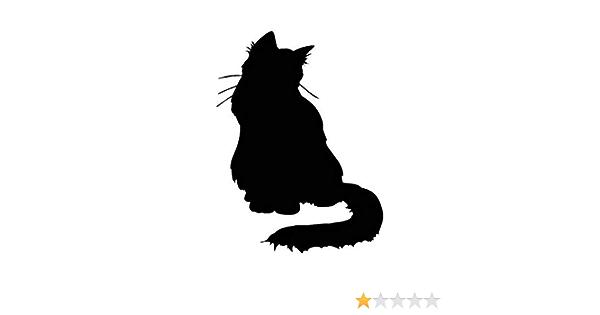 Multiple Patterns /& Sizes ebn148 Vinyl Decal Sticker Cat Fluffy