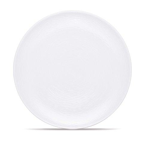 Safe Microwave Noritake Plates - Noritake WOW Swirl Dinner Plate, 11-Inch