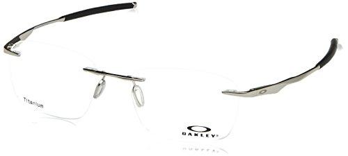 Oakley Wingfold Evs Argent OX5115 03 53-18 - Titanium Oakley Frames Rimless
