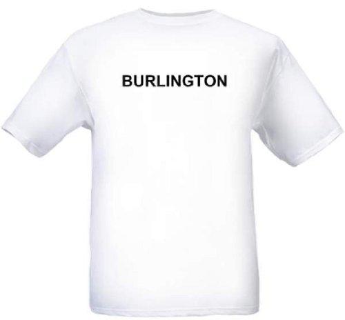 BURLINGTON - City-series - White T-shirt - size Medium for $<!--$11.99-->