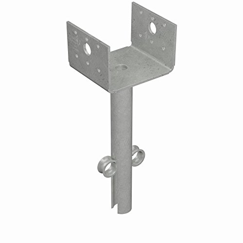 Simpson Strong Tie EPB44HDG 1 1 1 Hot-Dip Galvanized 12-Gauge 4x4 Elevated Post Base