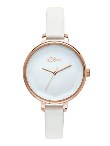 s.Oliver Time Womens Analogue Quartz Watch with PU Strap SO-3583-LQ