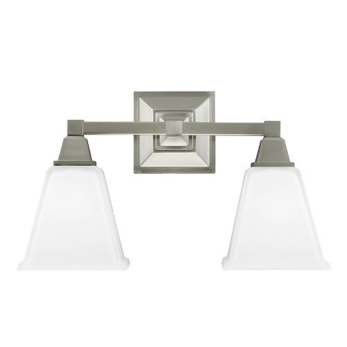 Sea Gull Lighting 4450402-962 Denhelm Two Light Wall / Bath Vanity Style - Mirrors And Home Bathroom Vanities Depot