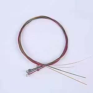 A Set of 6 Strings for Acoustic Guitar Generic As per product description