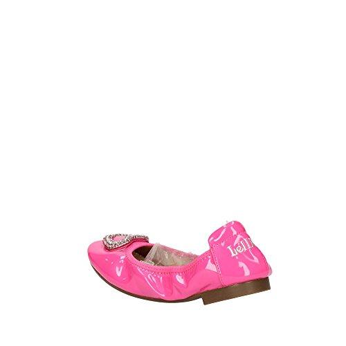 LELLI KELLY - Bailarina blanca de charol, las líneas románticas, ultra elástica y flexible, Niña, Niñas Pink