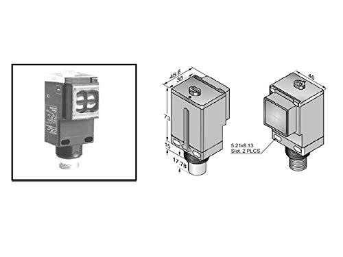 RADWELL VERIFIED SUBSTITUTE 42GTU-9201-QD-SUB PHOTOELECTRIC Sensor - STD Retro-Reflective - Polarized Filter, 4.87M (16FT), 12-240VDC/24-240VAC, SPDT Relay, Mini 5-PIN QD, Opt. Timing Function