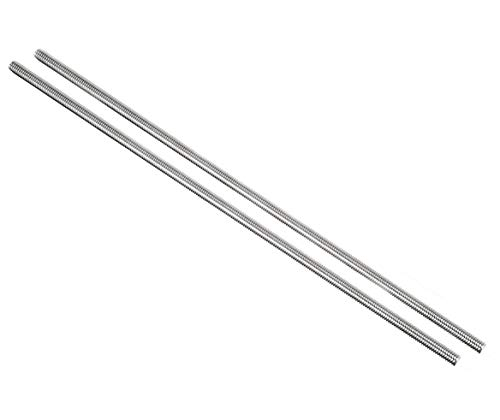 YXQ M6 x 250mm 304 Stainless Steel Rod Fully Right Hand Threads(2Pcs)