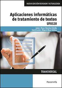 Descargar Libro Aplicaciones Informáticas De Tratamiento De Textos Óscar SÁnchez Estella