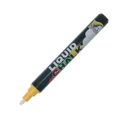 Marcador de tiza líquida amarillo - Ideal para uso en ...