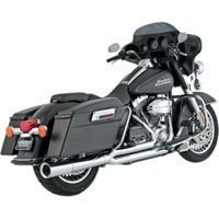VANCE & HINES PRO PIPE CHROME 2 INTO 1 EXHAUST FOR 1999-08 TOURING # - Pro Hines Pipe