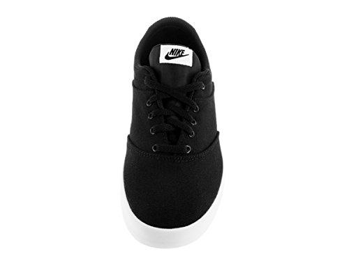 Nike W Mini Sneaker Lace Cnvs, Zapatillas de Deporte Para Mujer Blanco (Black / White)