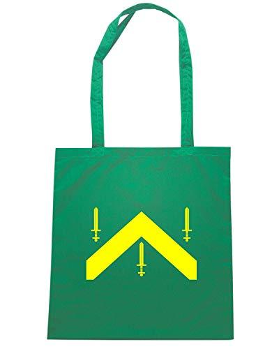 Speed Shirt Borsa Shopper Verde TM0174 CAMPINA GRANDE FLAG
