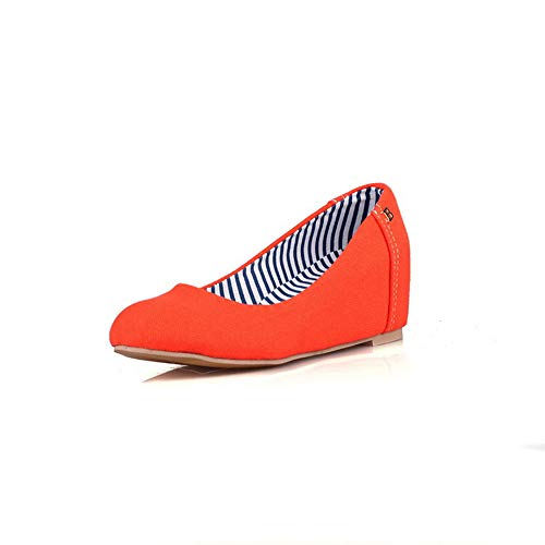 Orange Femme Compensées Sandales 36 1TO9 Orange 5 Inconnu MMS06112 TIPqYwna