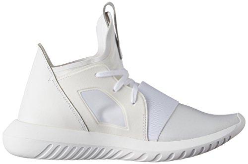 Adidas Kvinders Rørformede Trodsig W, Hvid / Hvid, 6 Os Hvid