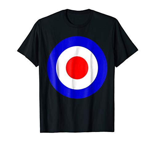 Classic Mod Target Pop Art Scooter Sixties T-Shirt