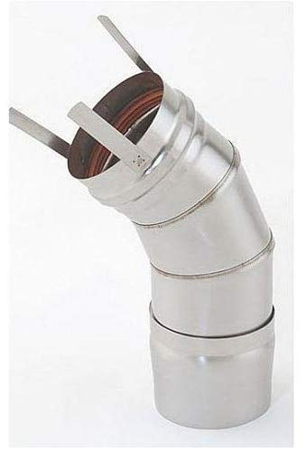 Heat Fab 9811 Saf-T Vent EZ Seal - 8 Inch Diameter - 45 Degree ()