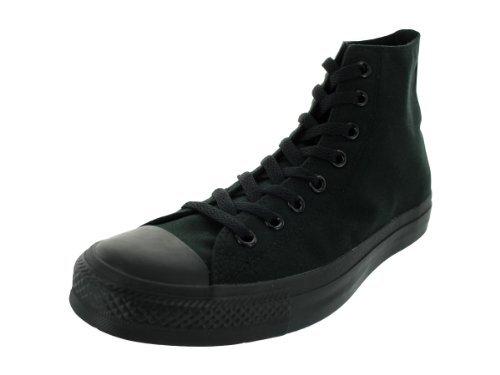 Converse Hi Black Monochrome Unisex Canvas Ankle Trainers M3310-11.5 by Converse