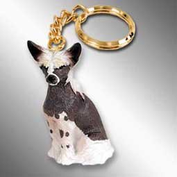 Chinese Crested Keychain Chinese Crested Accessories