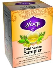 Yogi Tea - Sampler saison froide, 16 sacs