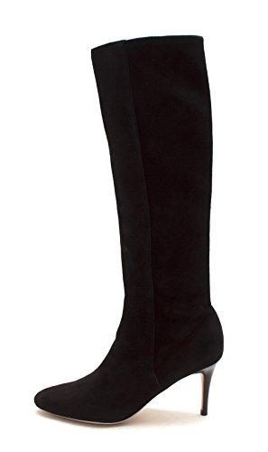 Cole Haan Vrouwen 14a4207 Pompen Rond Suede Mode Laarzen Zwart