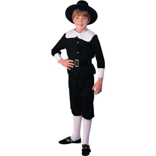 [Pilgrim Boy Costume - Medium] (Boy Pilgrim Costumes)