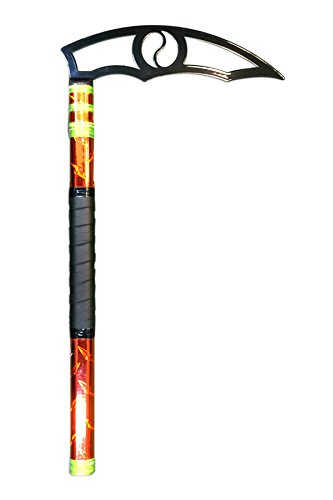 Buki Yuushuu Orange Diamond Plated Kamas, Black Blade