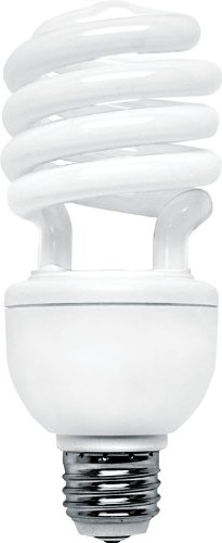 GE Lighting 80890 Energy Smart Spiral CFL 26-watt 1700-Lumen T3 Light Bulb with Medium Base, ()