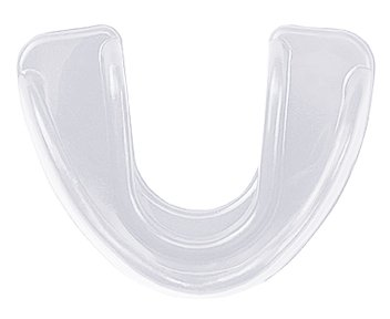 Clear Multi-Sport Double Impression Mouthguard Strapless (Soccer, Basketball, Baseball, Softball)