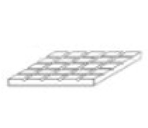 Square Tile 1/8 by Evergreen Scale Models (Evergreen Square Tile)