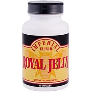 Imperial Elixir / Ginseng Company Elixir, Royal Jelly, 50 Capsules by Imperial Elixir by Imperial Elixir