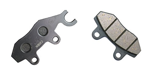 Price comparison product image CNBK Front Disc Brake Pads Semi Met for KYMCO Street Bike 125 Activ 04 05 06 2004 2005 2006 1 Pair(2 Pads)