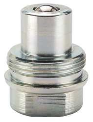 Parker 3010-2 Valved Hydraulic Quick Connect Nipple 1/4 NPT Female
