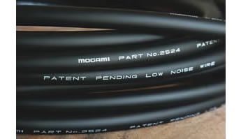 Unterminated Wires - Mogami 2524 INSTRUMENT / GUITAR / FX CABLE BULK UNTERMINATED 10 FOOT LONG CABLE