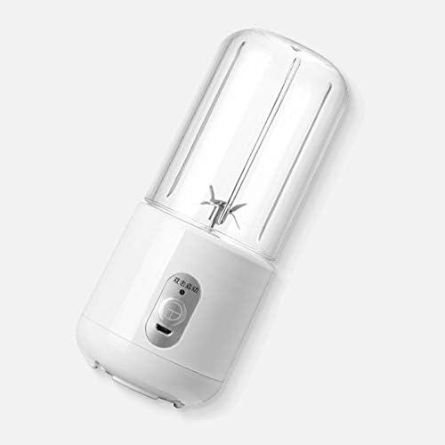 No brand Mini Ricaricabile Juicer Cup Multi-Funzione Portable USB Elettrico di miscelazione Macchina (Color : Milk White) Milk White