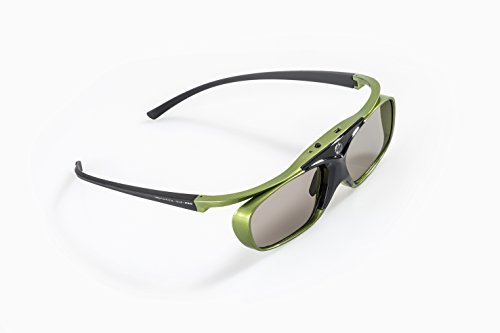 "Price comparison product image Optoma-Compatible DLP Link 3D shutter glasses ""Lime Heaven"" – for all DLP 3D Projectors: Acer, BenQ, Optoma, Viewsonic, Philips, LG, Infocus, Vivitek 