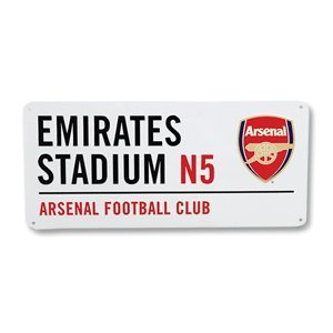 Arsenal FC - Authentic EPL Metal Street Sign