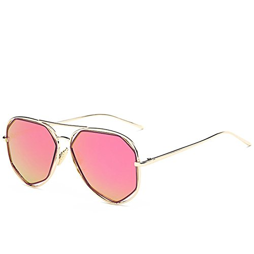 A-Roval Women Polarized Round Large Fashion Metal Colorful - Priced Sell To Sunglasses Low