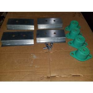 Trane BAYISLT010A Isolator KIT, Vibration MOUNTING for Split Systems
