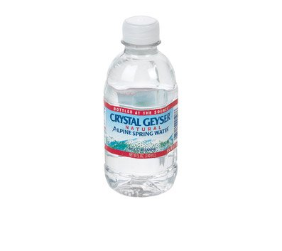 Crystal Geyser Natural Alpine Spring Water, 8oz, 28/ct