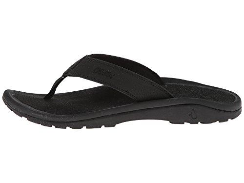 Olukai Ohana Sandalen - Heren Zwart / Zwart