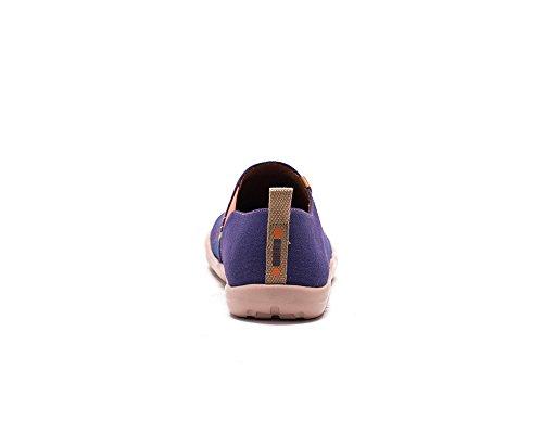 UIN Barcelona Sweetspots Bemalte Herren Canvas Schuhe Violett