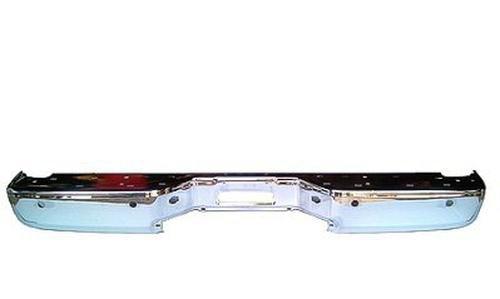Crash Parts Plus Chrome NI1102150 Rear Bumper Face Bar for 07-15 Nissan Titan