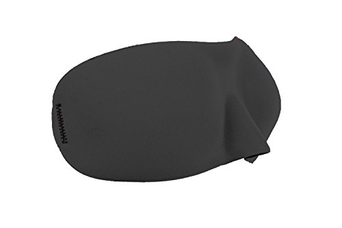 Dream Essentials Sweet Dreams Contoured Sleep Mask with Earplugs and Carry Pouch, Black